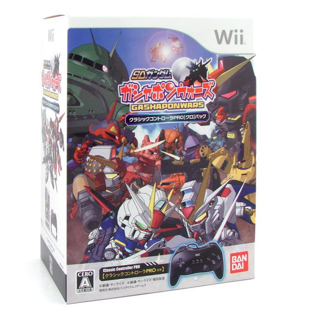 Image 1 for SD Gundam: Gashapon Wars (Classic Controller Pro Pack)