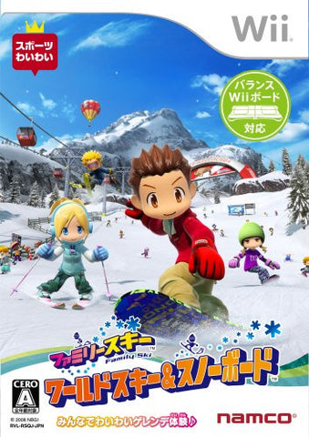 Image for Family Ski: World Ski & Snowboard