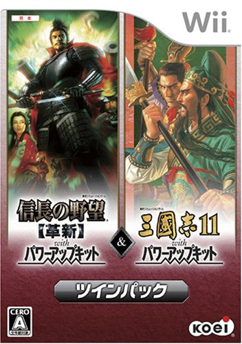 Nobunaga no Yabou: Kakushin with Power-Up Kit (w/ Sangokushi XI)