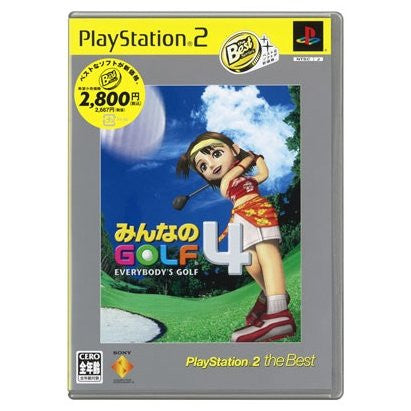 Image for Everybody's Golf 4 /  Minna no Golf 4 (PlayStation2 the Best)