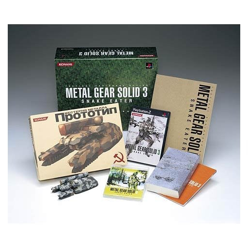 Metal Gear Solid 3 Snake Eater [Premium Package]