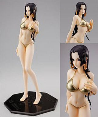 Image 1 for One Piece - Boa Hancock - Excellent Model - Portrait Of Pirates Limited Edition - 1/8 - Gold ver. (MegaHouse)