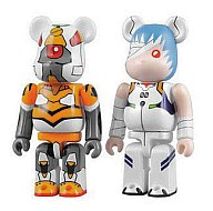 """Rebuild of Evangelion"" BE@BRICK Set B EVA-00 & Ayanami Rei"
