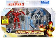 """Iron Man 3"" Hasbro Action Figure 3.75 Inch Assemblers Box Set / 2 Pack"