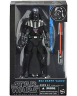 "Star Wars - Hasbro Action Figure 6 Inch ""Black"" Series 2: #02 Darth Vader"