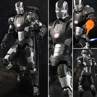 Super Alloy 1/12 Collectible Figure Series War Machine Mark II