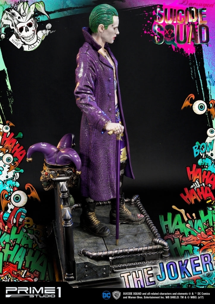 "Museum Masterline ""Suicide Squad"" Joker 1/3 Polystone Statue MMSS-03"