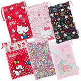 Hello Kitty Pouch for 3DS LL (Black) - 5