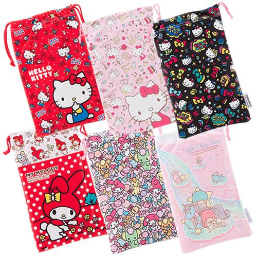 Image 5 for Little Twin Stars Pouch for 3DS LL (Pink)