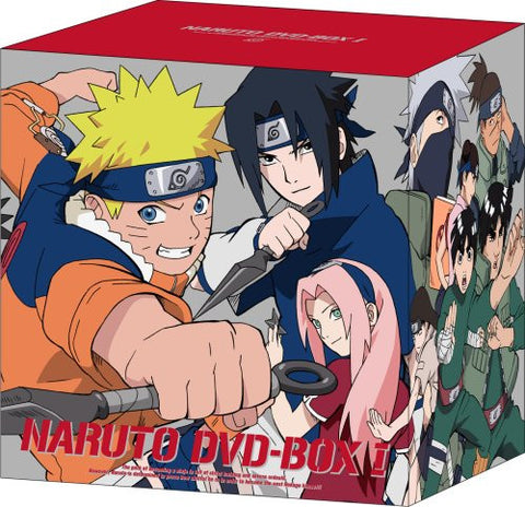 Image for Naruto DVD Box 1 Sanjo Uzumaki Naruto [Limited Edition]
