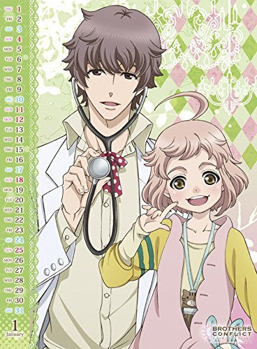 Image 2 for Brothers Conflict - Wall Calendar (Try-X)[Magazine]