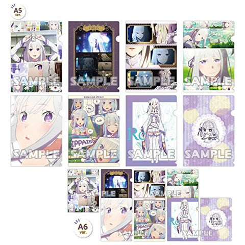 Image for Re:Zero kara Hajimeru Isekai Seikatsu - Emilia ga Ippai - Clear File Collection