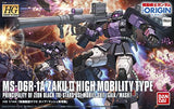 Thumbnail 3 for Kidou Senshi Gundam: The Origin - MS-06R-1A Zaku II High Mobility Type - HG Gundam The Origin - 1/144 - Black Tri-Stars, Gaia/Mash Custom (Bandai)