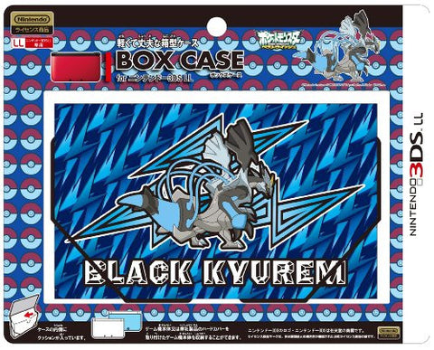 Image for Box Case for 3DS LL (Black Kyurem Over Drive)