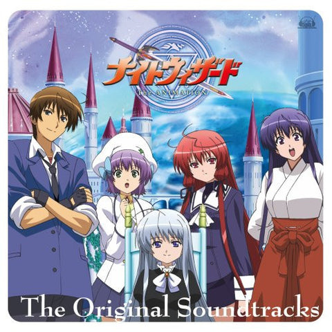 Image for Night Wizard The Animation The Original Soundtracks