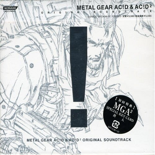 Image 1 for Metal Gear Ac!d & Ac!d² Original Soundtrack