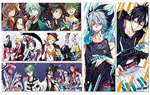 Image 1 for Servamp - Licht Jekylland Todoroki - Lawless - Rosen Kranz - Stick Poster - Pos x Pos Collection - Servamp Pos x Pos Collection (Media Factory)