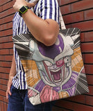 Dragon Ball Z - Frieza - Full Graphic - Large Tote Bag - Natural - 4