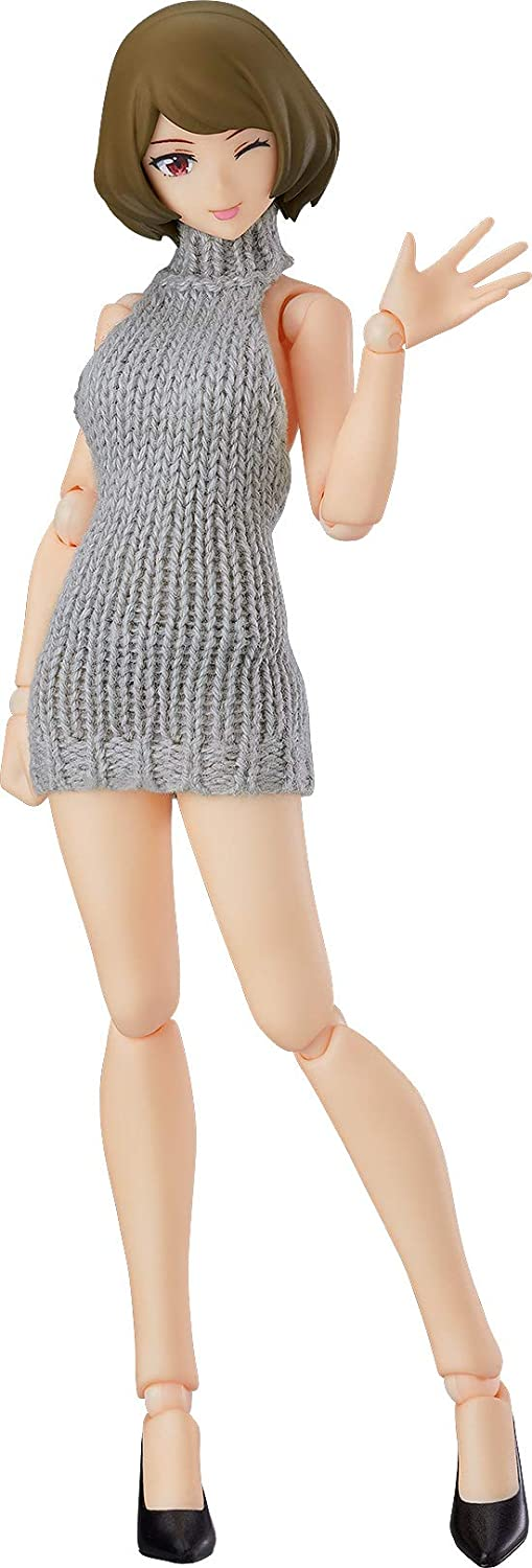 Original Character - Figma #506 - figma Styles - Chiaki - Backless Sweater Outfit (Max Factory)