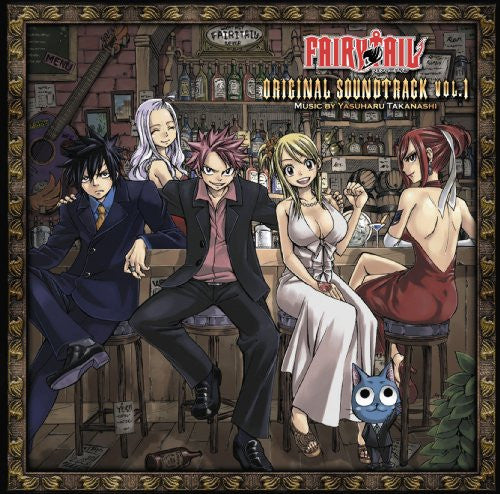 Image 1 for FAIRY TAIL ORIGINAL SOUNDTRACK VOL.1