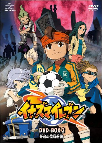 Image 1 for Inazuma Eleven DVD Box 2 Kyoi No Shinryakusha Hen [Limited Edition]