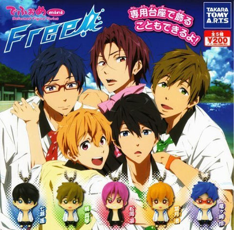 Free! - Deform Mini Figure Series