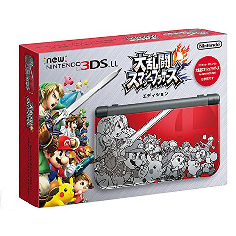 NINTENDO 3DS LL Super Smash Bros. [Limited Edition]