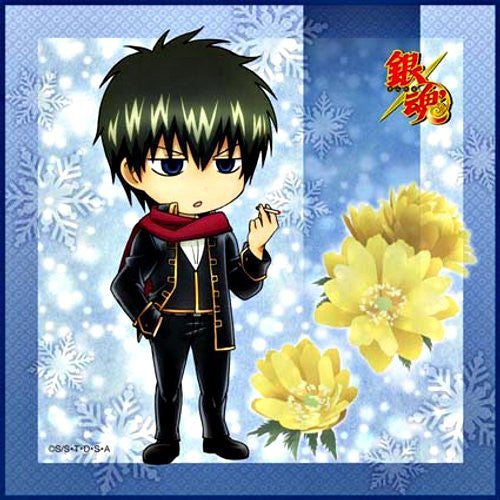 Image 1 for Gintama - Hijikata Toushirou - Towel - Mini Towel - winter ver.2 (Broccoli)