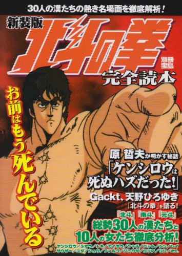 Image 2 for Fist Of The North Star 40 Character Complete Analytics Illustration Art Book