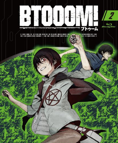 Image for Btooom 02 [Blu-ray+CD Limited Edition]