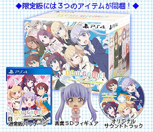 Image 8 for New Game! The Challenge Stage! [Limited Edition]