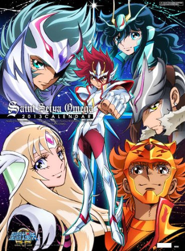 Image 1 for Saint Seiya Omega - Wall Calendar - 2013 (Try-X)[Magazine]