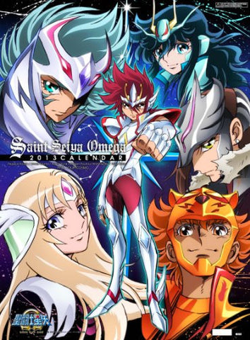 Image for Saint Seiya Omega - Wall Calendar - 2013 (Try-X)[Magazine]