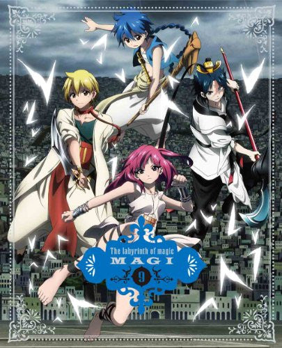 Image 1 for Magi: The Labyrinth Of Magic Vol.9 [DVD+CD Limited Edition]