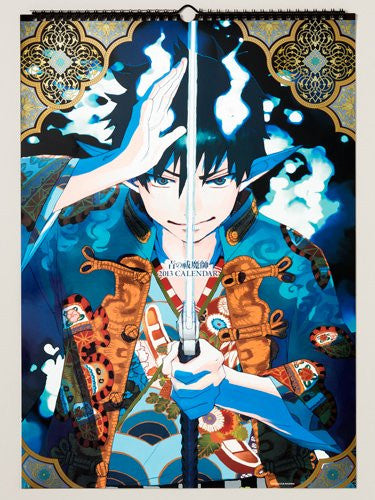 Image 1 for Ao no Exorcist - Comic Calendar - Wall Calendar - 2013 (Shueisha)[Magazine]