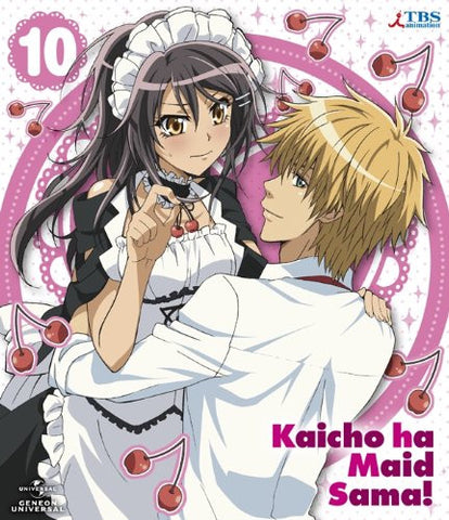 Image for Maid Sama! 10 [Blu-ray+DVD+CD Limited Edition]