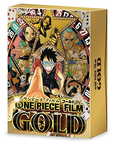 Image for ONE PIECE FILM GOLD - DVD Golden Limited Edition (Amazon limited)