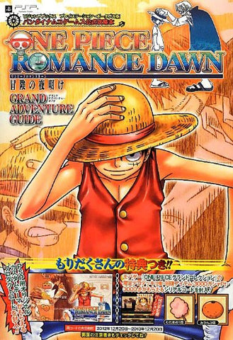 One Piece Romance Dawn Grand Adventure Guide Book / Psp