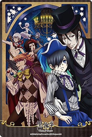 Image for Kuroshitsuji ~Book of Circus~ - Beast - Ciel Phantomhive - Doll - Joker - Sebastian Michaelis - Large Format Mousepad - Mousepad (Broccoli)