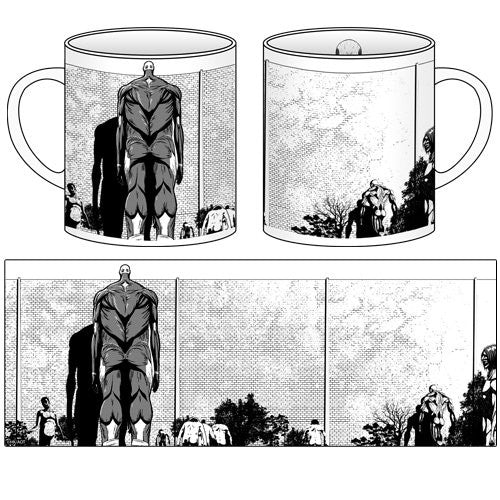Image 2 for Shingeki no Kyojin - Armored Titan - Colossal Titan - Titan - Mug (Cospa)
