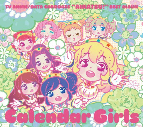 Image 1 for Aikatsu! Best Album Calendar Girls