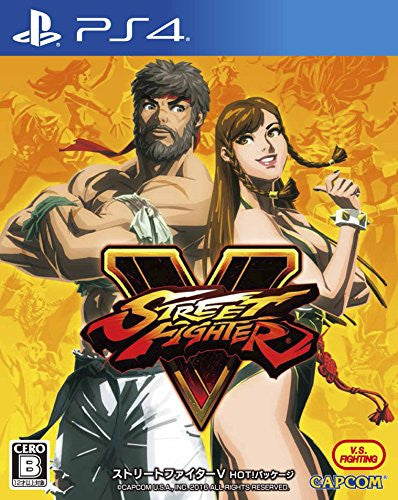 Image 1 for STREET FIGHTER V - HOT! PACKAGE