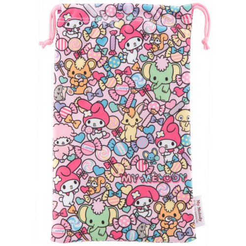 Image 2 for My Melody Pouch for 3DS LL (Pink)