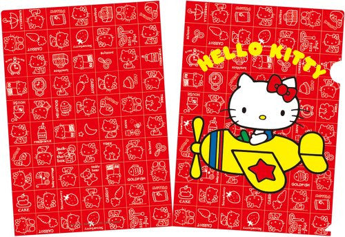 Image 3 for Hello Kitty   Mini Clear File And Nail Seal Book