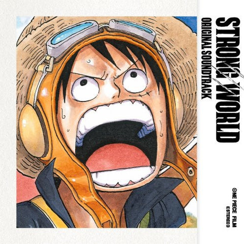 Image for ONE PIECE FILM STRONG WORLD ORIGINAL SOUNDTRACK