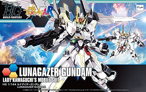 Gundam Build Fighters Amazing Ready - Lunagazer Gundam - HGBF - 1/144 (Bandai)