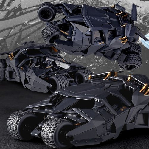 Image 2 for Batman Begins - The Dark Knight - The Dark Knight Rises - Batman - Batmobile Tumbler - Revoltech - Revoltech SFX 043 (Kaiyodo)