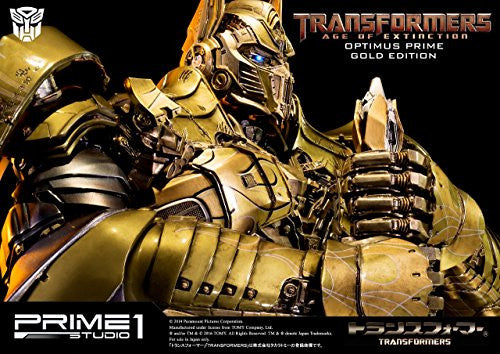 Image 5 for Transformers: Lost Age - Convoy - Museum Masterline Series MMTFM-07GL - Knight Edition, Gold Edition (Prime 1 Studio)