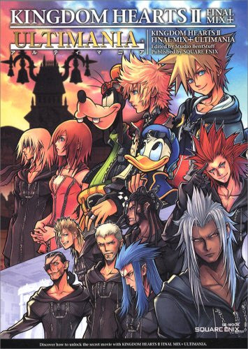Image 1 for Kingdom Hearts Ii Final Mix+ Ultimania