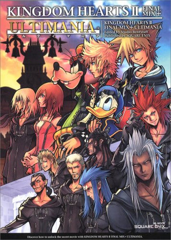 Kingdom Hearts Ii Final Mix+ Ultimania
